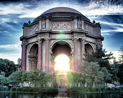 Palace Of Fine Arts Poster by Kayta Kobayashi