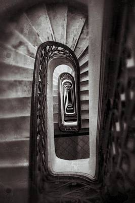Palacio Barolo Staircase Buenos Aires Poster by For Ninety One Days