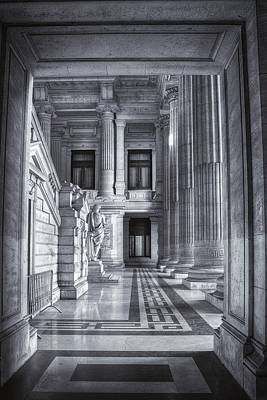 Palais De Justice Poster by Joan Carroll