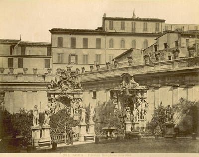Palazzo Borghese, C1890 Poster by Granger