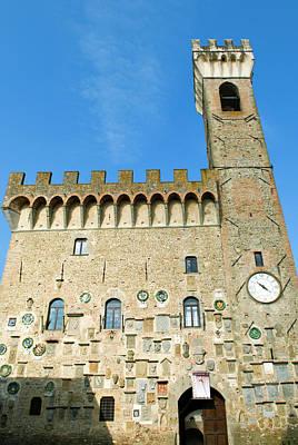 Palazzo Dei Vicari (15th Century Poster by Nico Tondini