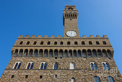 Palazzo Vecchio In Florence Poster by Kiril Stanchev