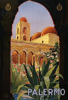Palermo Sicily Italy Poster