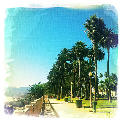 Palisades Park Poster by Nina Prommer