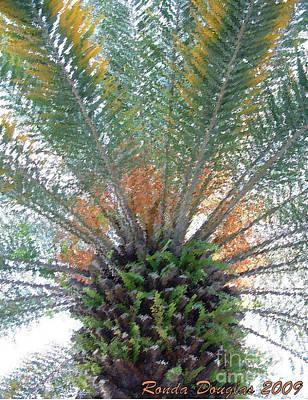 Palm Art Poster