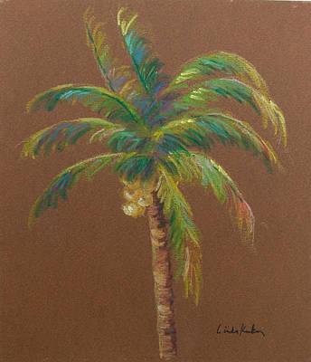 Palm Tree Poster by Linda Krukar