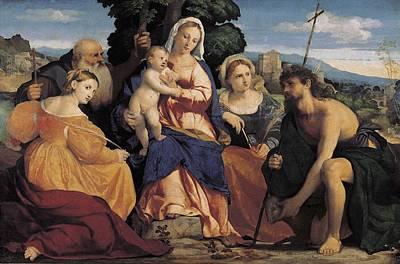 Palma, Jacopo 1480-1528. Madonna Poster by Everett