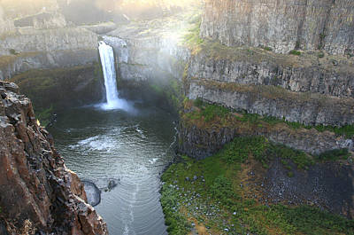 Palouse Falls Poster by Rich Collins