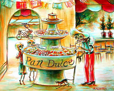 Pan Dulce Poster by Heather Calderon
