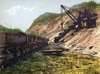 Panama Canal Culebra Cut Poster