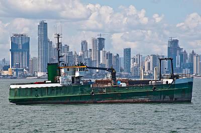 Panama Cityscape Poster