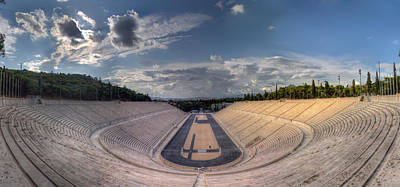 Poster featuring the photograph Panathenaic Stadium by Micah Goff