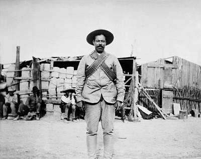 Pancho Villa 1910s Poster by Mountain Dreams