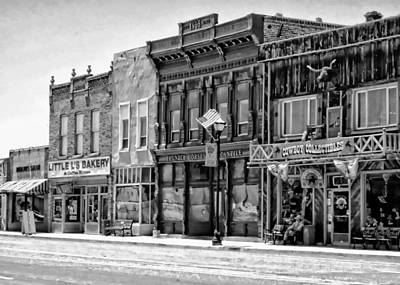 Poster featuring the photograph Panguitch Utah by Kathy Churchman