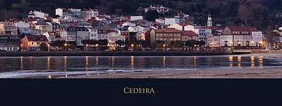 Panorama Of Cedeira Galicia Spain Poster