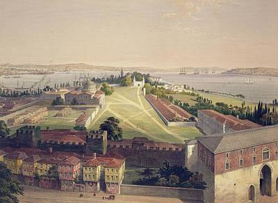 Panorama Of Constantinople, Plate 22 Poster