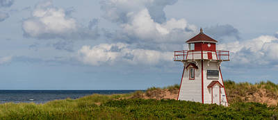Panorama Of Covehead Lighthouse In Stanhope Poster by Vadim Petrov