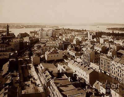 Panorama Of Sydney Australia Poster by The Keasbury-Gordon Photograph Archive