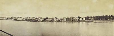 Panorama Of The Waterfront Of Paramaribo Poster by Artokoloro
