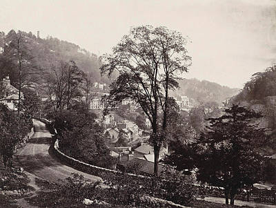 Panoramic View Of Houses And A Road On A Ridge In Matlock Uk Poster by Artokoloro