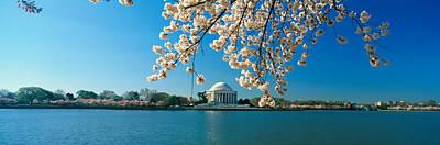 Panoramic View Of Jefferson Memorial Poster