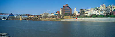 Panoramic View Of Mississippi River Poster