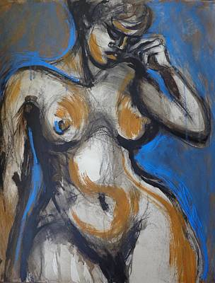 Pansive - Nudes Gallery Poster by Carmen Tyrrell