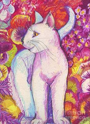 Pansy The Cat Poster