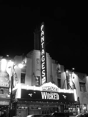 Pantages Theatre Poster