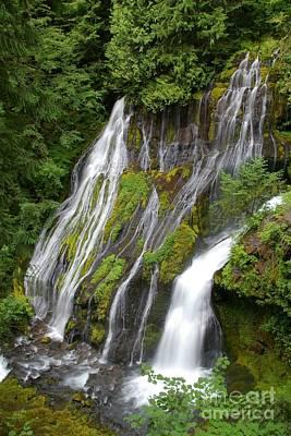 Panther Creek Falls 2- Washington Poster