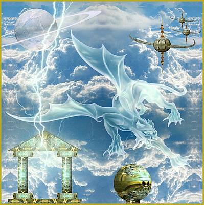Panthera Draconis Realm Poster