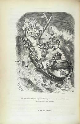 Panurge Despairs Poster by British Library