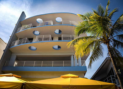 Congress Hotel Of South Beach Poster by Karen Wiles