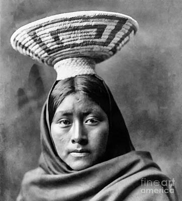 Papago Indian Luzi Poster