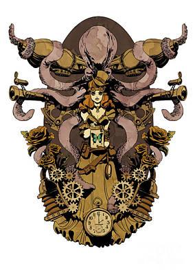 Papillon Mecaniques Poster