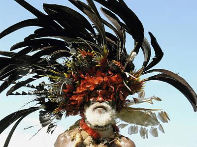 Papua New Guinea, Portrait Poster
