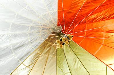Parachuting Dog Poster by Liesl Marelli