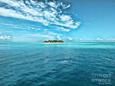 Paradise In Fiji Poster by Karen Lewis