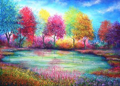 Paradise Pond Poster