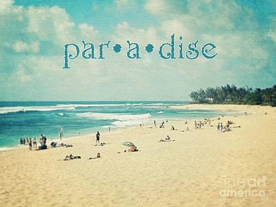 Poster featuring the photograph Paradise by Sylvia Cook