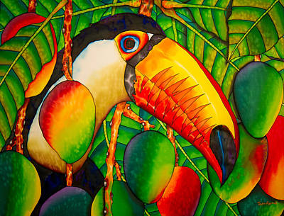 Paradise Toucan Poster