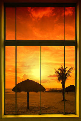 Paradise View I Poster