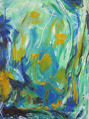 Poster featuring the painting  Spring Time by Fereshteh Stoecklein