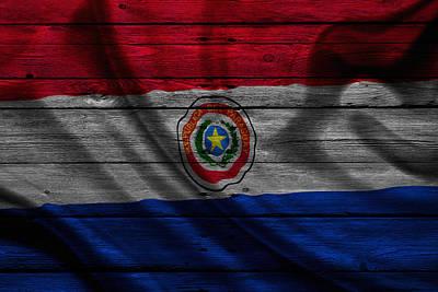 Paraguay Poster by Joe Hamilton