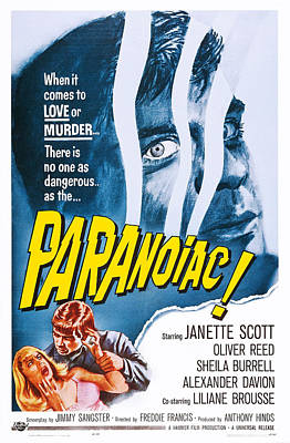 Paranoiac, Us Poster Art, Top Oliver Poster by Everett