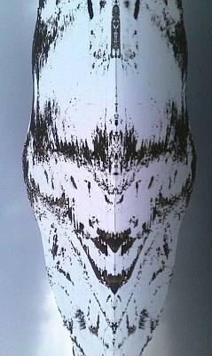 Pareidolia Alien Landed In Algeria  Poster
