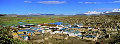 Parinacota, An Aymara Village In Lauca Poster by Martin Zwick