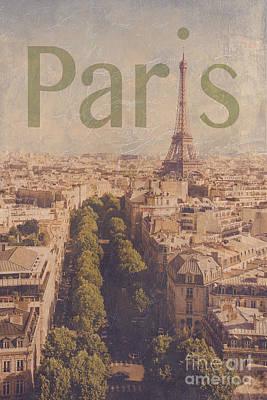 Paris Poster by Diane Diederich