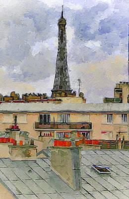 Paris Eiffel Tower 1 Poster