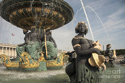 Paris Fountains  Poster